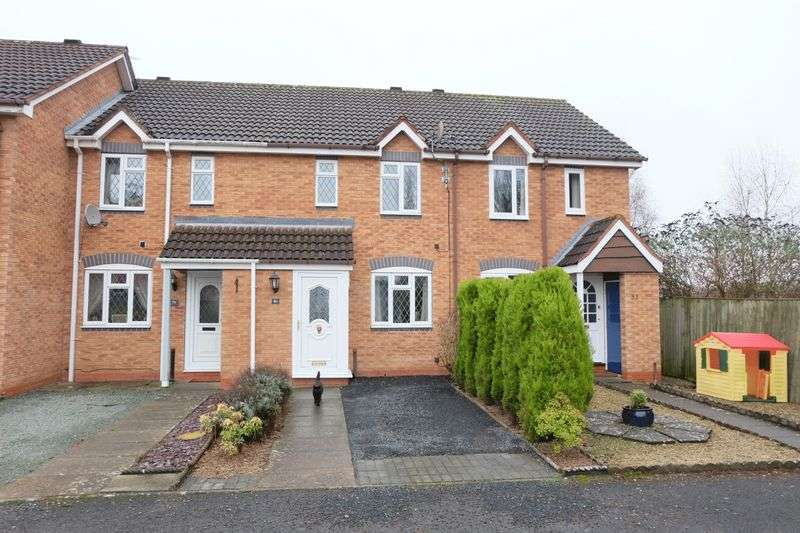 2 Bedrooms Terraced House for sale in Steatite Way, Stourport-On-Severn DY13 8PQ