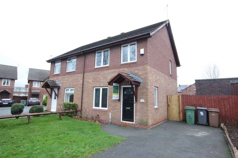 3 Bedrooms Semi Detached House for sale in Lawnside Close, Rock Ferry, Wirral