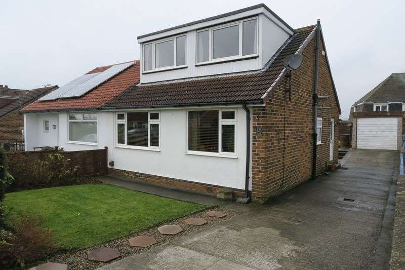 4 Bedrooms Semi Detached House for sale in Redhill Avenue, Tingley, Wakefield