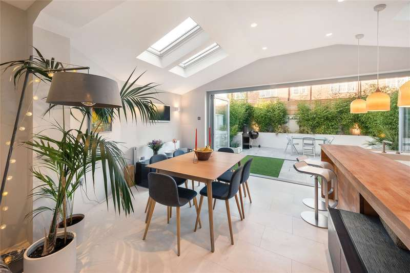 3 Bedrooms Terraced House for sale in Sabine Road, London, SW11