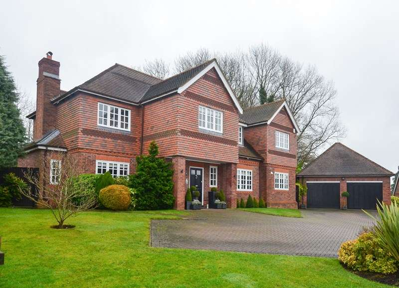 5 Bedrooms Detached House for sale in Lickey Grange Drive, Marlbrook, Bromsgrove