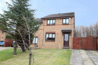 3 Bedrooms Semi Detached House for sale in Ritchie Park, Johnstone