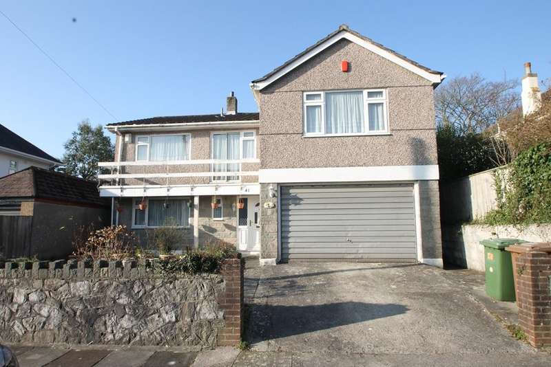 4 Bedrooms Detached House for sale in Mannamead