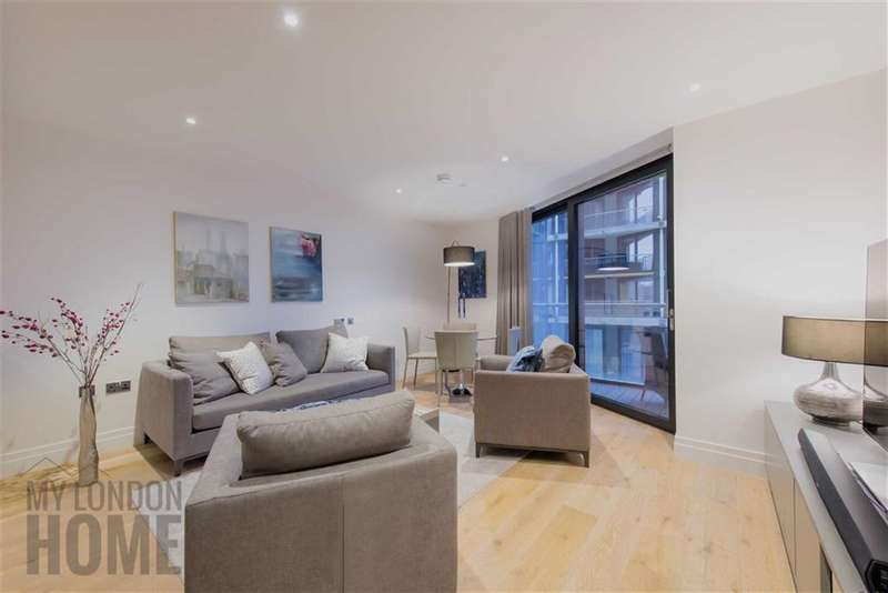 2 Bedrooms Property for sale in Three Riverlight Quay, Nine Elms Lane, Vauxhall, London, SW8