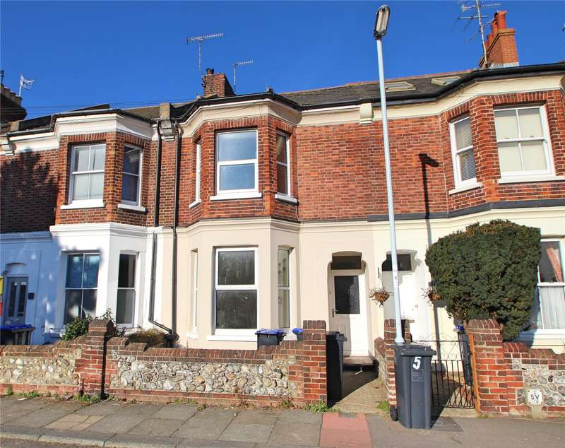 3 Bedrooms Terraced House for sale in Providence Terrace, Worthing, West Sussex, BN11