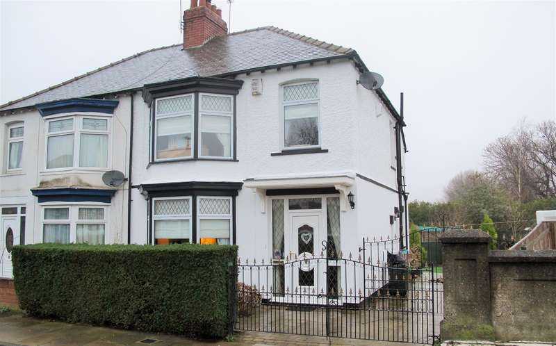 3 Bedrooms Semi Detached House for sale in Beech Grove Road, Linthrope, Middlesbrough, TS5 6RE