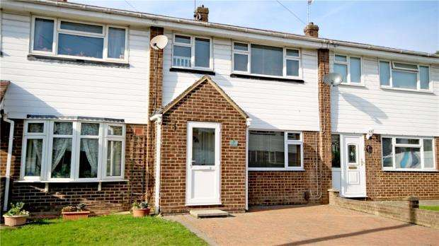 3 Bedrooms Terraced House for sale in Lea Way, Aldershot, Hampshire