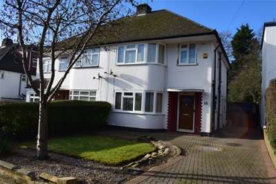 3 Bedrooms Semi Detached House for sale in Kynaston Close, Harrow Weald