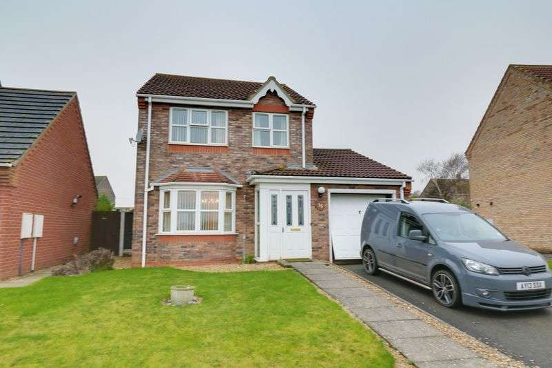 3 Bedrooms Detached House for sale in Sargents Way, Hibaldstow