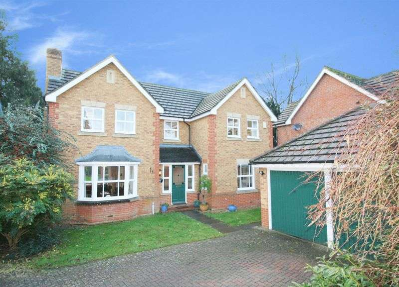 4 Bedrooms Detached House for sale in Abell Gardens, Maidenhead