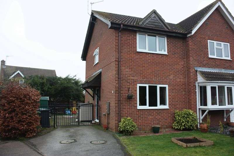 2 Bedrooms Semi Detached House for sale in Grange Close, Sawtry
