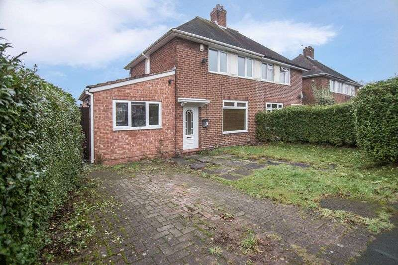 3 Bedrooms Semi Detached House for sale in Woodmeadow Road, Birmingham