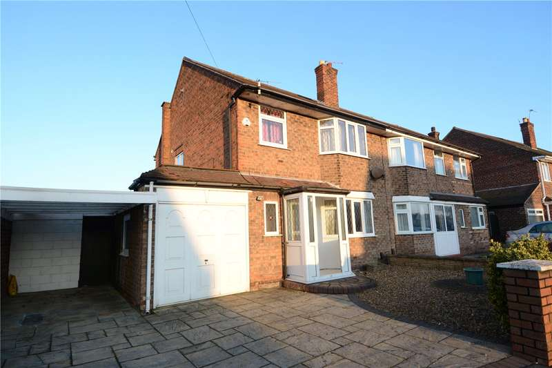 3 Bedrooms Semi Detached House for sale in Bayswater Road, Wallasey, Wirral
