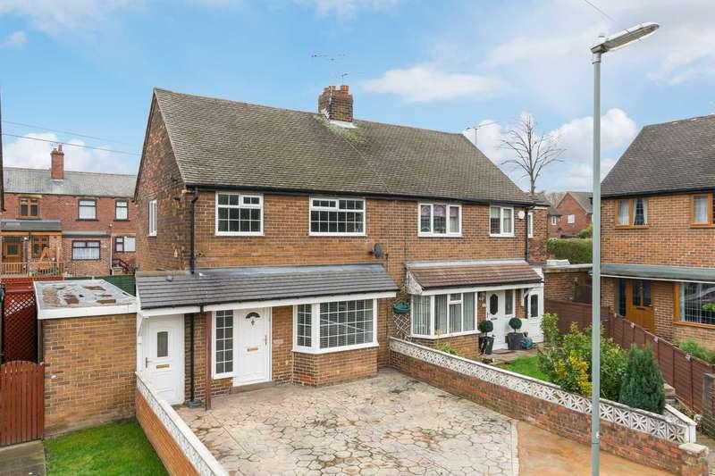 2 Bedrooms Semi Detached House for sale in Slaithwaite Avenue, Dewsbury