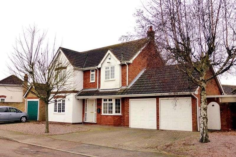 4 Bedrooms Detached House for sale in Heron Road, Wisbech, Cambridgeshire