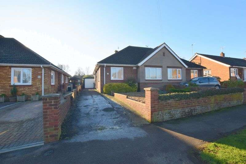 2 Bedrooms Semi Detached Bungalow for sale in Tattenhoe Lane, Far Bletchley, Milton Keynes
