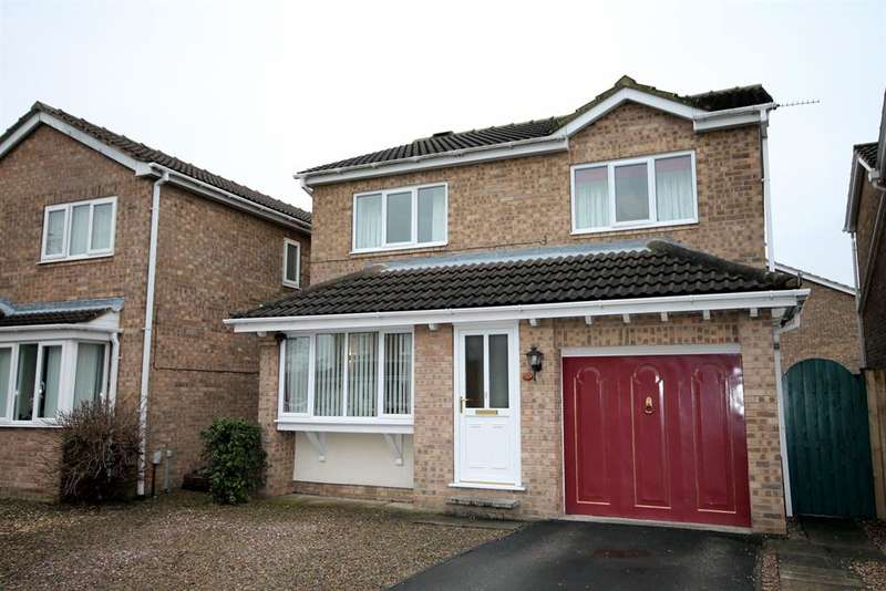 4 Bedrooms Detached House for sale in Grimwith Garth, York, YO30 4UL