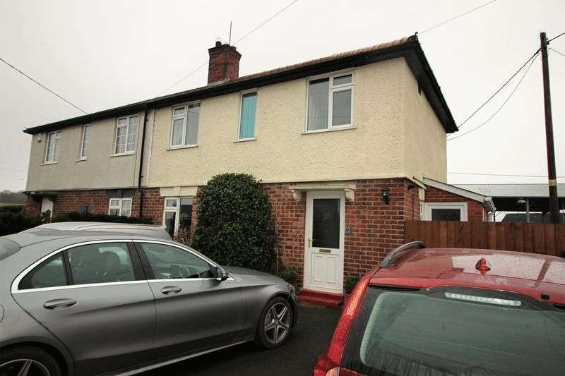 3 Bedrooms Semi Detached House for sale in 2 Rural Cottages, Westbury, Shrewsbury, SY5 9QT