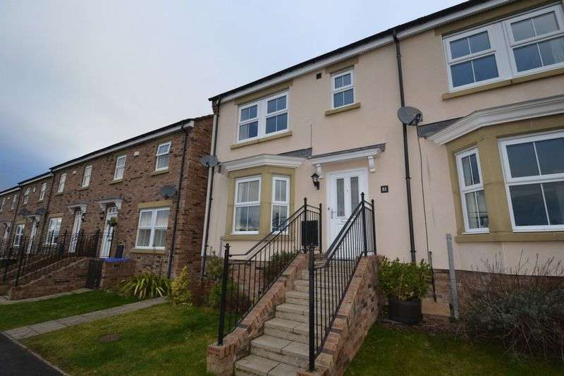 3 Bedrooms Terraced House for sale in Whitton View, Morpeth