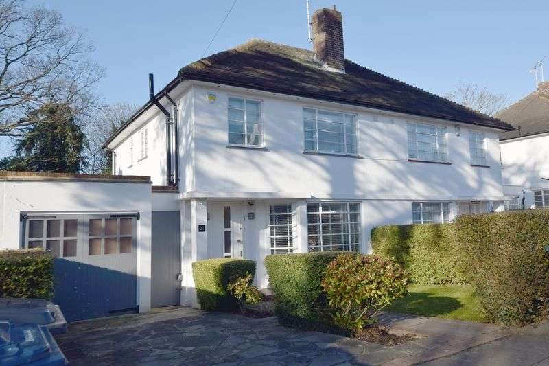 4 Bedrooms Semi Detached House for sale in Ludlow Way, Hampstead Garden Suburb, London N2