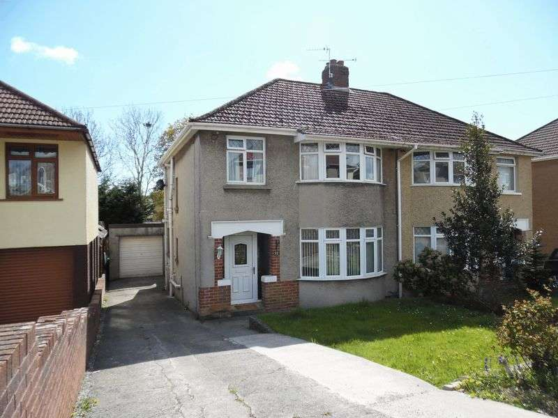 3 Bedrooms Semi Detached House for sale in Oaklands Road Bridgend CF31 4SU