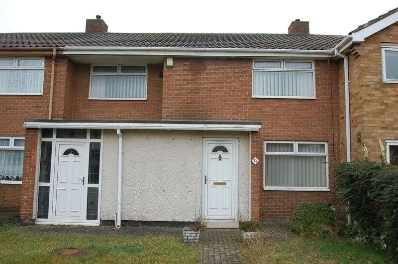 3 Bedrooms Terraced House for sale in Holyrood Close, Thornaby, Stockton-On-Tees