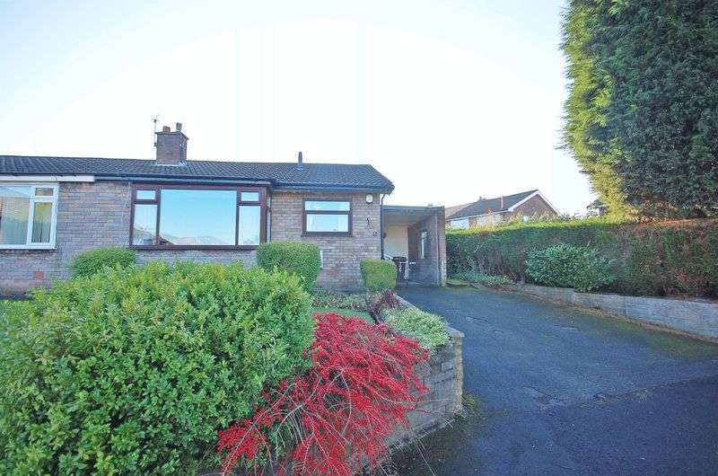 2 Bedrooms Semi Detached Bungalow for sale in St Peters Drive, Godley
