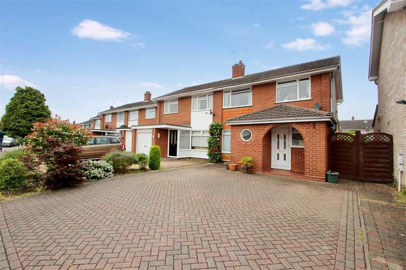 3 Bedrooms Semi Detached House for sale in Newcastle Avenue, Westlands, Colchester