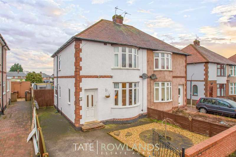 2 Bedrooms Semi Detached House for sale in Queens Avenue, Flint
