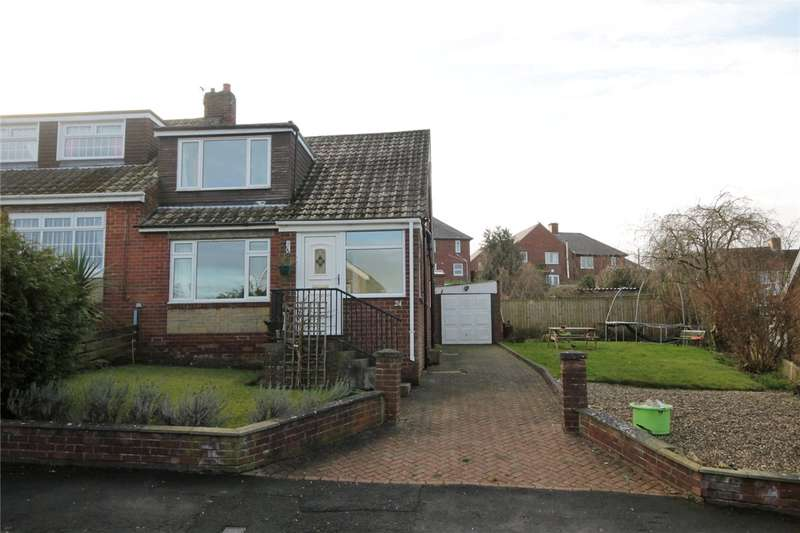 4 Bedrooms Semi Detached House for sale in The Rise, Castleside, Consett, DH8