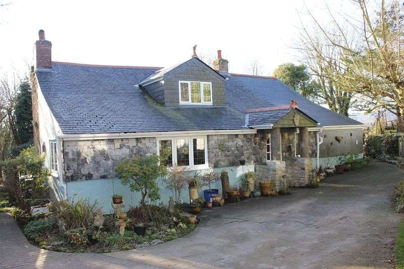 3 Bedrooms Detached House for sale in Luxulyan, Bodmin