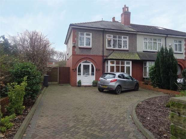 3 Bedrooms Semi Detached House for sale in The Drive, Bury, Lancashire