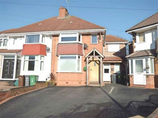 4 Bedrooms Semi Detached House for sale in Wentworth Road, Solihull, West Midlands