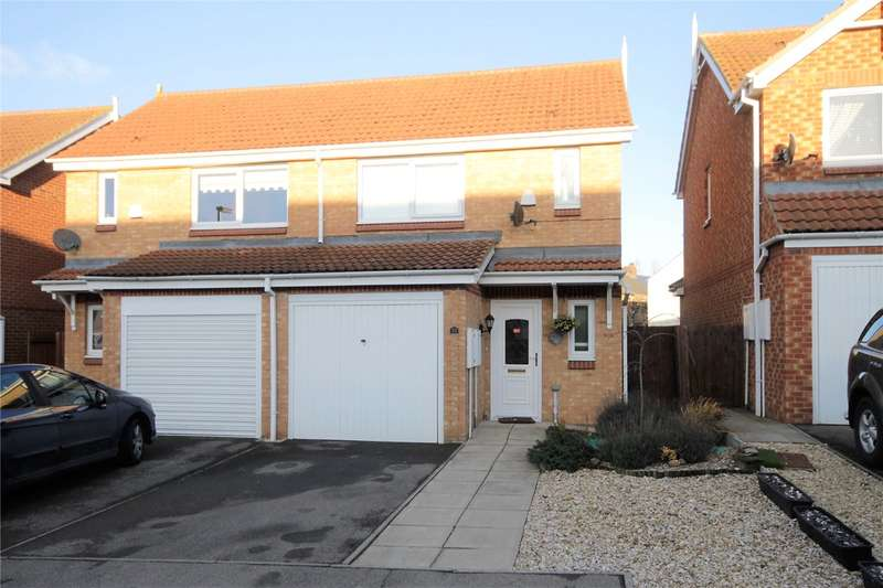 2 Bedrooms Semi Detached House for sale in The Chequers, Consett, Durham, DH8