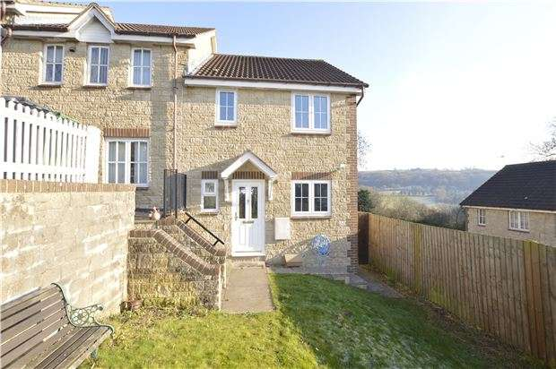 3 Bedrooms End Of Terrace House for sale in Swifts Hill View, Stroud, Gloucestershire, GL5 1PR