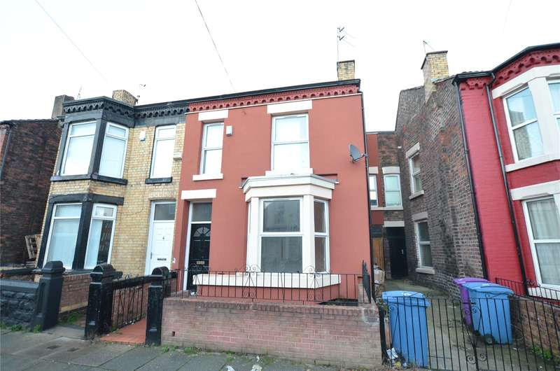 3 Bedrooms Terraced House for sale in Boswell Street, Liverpool, Merseyside, L8