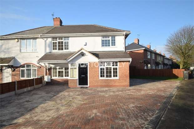 4 Bedrooms Semi Detached House for sale in Wheatley Street, WOLVERHAMPTON, West Midlands