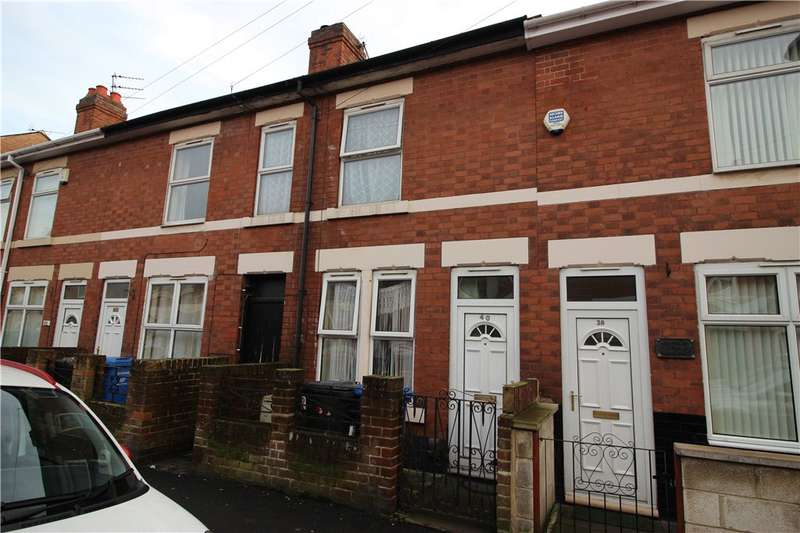 2 Bedrooms Terraced House for sale in Francis Street, Derby, Derbyshire, DE21