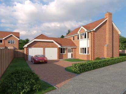 4 Bedrooms Detached House for sale in Alltami Heath, Alltami Road, Buckley, CH7