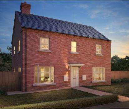 4 Bedrooms Detached House for sale in Temptation, Reservior Road, Burton On Trent