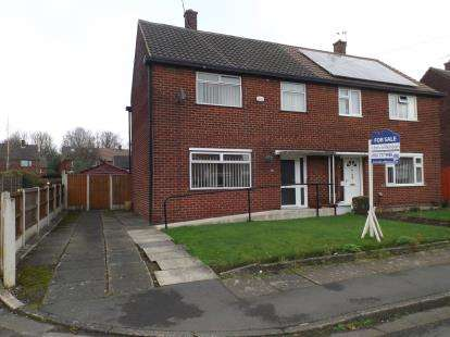 3 Bedrooms Semi Detached House for sale in Sussex Road, Cadishead, Manchester, Greater Manchester