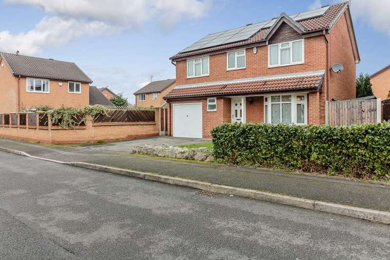 4 Bedrooms Detached House for sale in Mulberry Close, West Bridgford, Nottingham, NG2 7SS