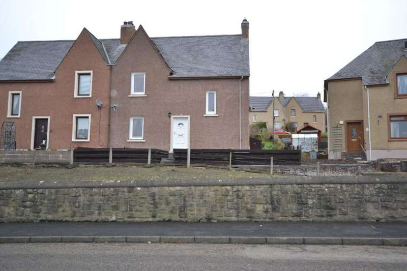 3 Bedrooms Semi Detached House for sale in 7, Burnfoot Road Hawick, TD9 8ED