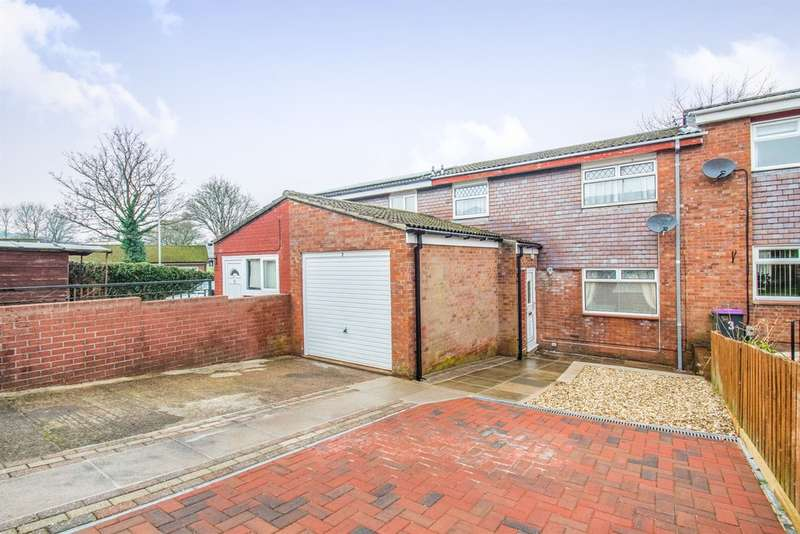 3 Bedrooms Terraced House for sale in Trostrey, Hollybush, Cwmbran