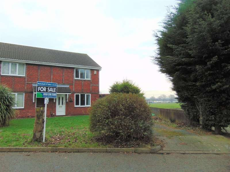 3 Bedrooms Semi Detached House for sale in Alvega Close, New Ferry