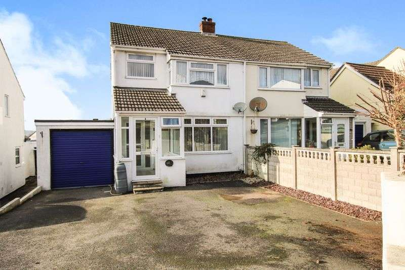 3 Bedrooms Semi Detached House for sale in St Marys Road, Bodmin, PL31