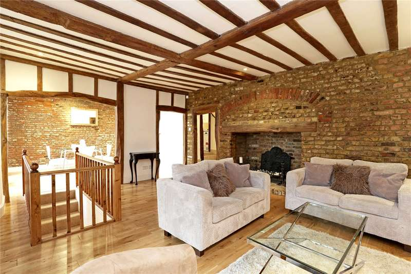 4 Bedrooms Semi Detached House for sale in Church Street, London, W4