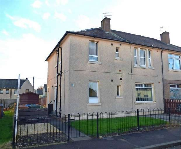 2 Bedrooms Flat for sale in Carronside Street, Falkirk
