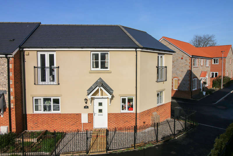3 Bedrooms End Of Terrace House for sale in Higher Meadow, Cranbrook