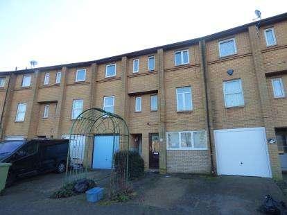 5 Bedrooms Terraced House for sale in Kernow Crescent, Fishermead, Milton Keynes, Buckinghamshire